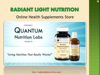 Quantum Nutrition Labs Supplement - Improve Your Health