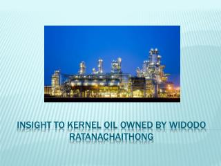Insight to Kernel Oil owned by widodo ratanachaithong