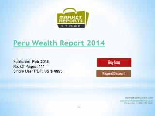 Wealth Market in Peru 2014