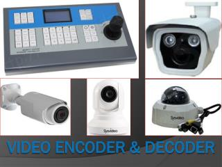 VIDEO ENCODER & DECODER