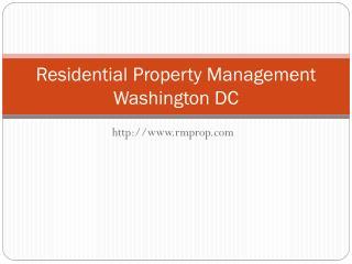 Rmprop.com - Property Management DC