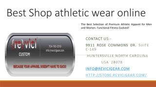 Best Shop athletic wear online
