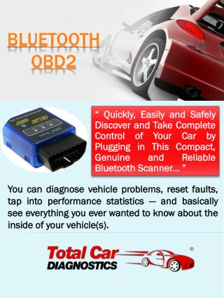 Bluetooth OBD