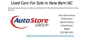 Used Cars For Sale in New Bern NC