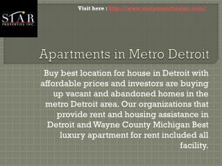 Buy Property in Detroit