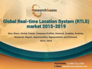 Global Real-time Location System (RTLS) market 2015-2019