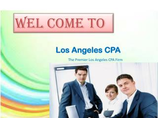 CPA Services in Alhambra