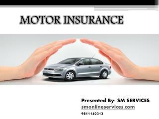 Buy motor insurance online