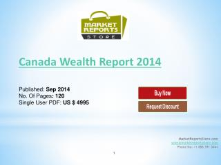 Canada Wealth Report 2014