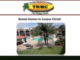 Rental Homes In Corpus Christi