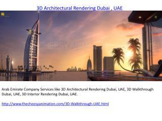 3D Architectural Rendering Dubai
