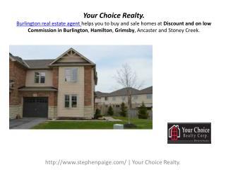 Burlington Real Estate