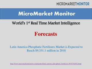 Latin America Phosphatic Fertilizers Market
