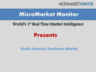 South America Reclosers Market