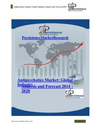 Antipsychotics Market: Global Industry Analysis and Forecast