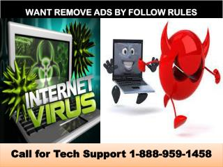 Remove Ads by Follow Rules, Clock Hand, Round World Adware