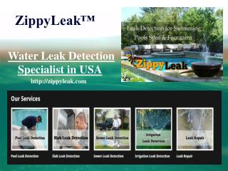 Pool Leak Detection Houston TX | 713-338-2088 | ZippyLeak