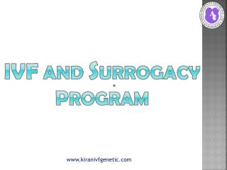 IVF AND SURROGACY PROGRAM