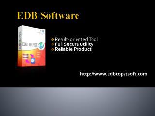 EDB Software