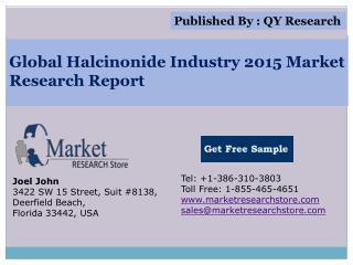 Global Halcinonide Industry 2015 Market Analysis Survey Rese