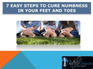 Steps to Cure Numbness in Your Feet and Toes