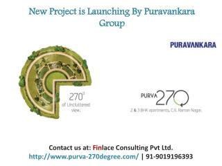 Purva 270 Degree, Price List , CV Raman Nagar, Bangalore