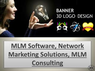 MLM Software, Network Marketing Solutions, MLM Consulting