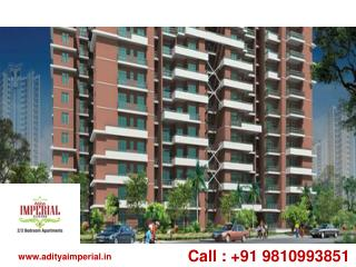 2/3 BHK Apartments 09810993851 Aditya Imperial Aligarh