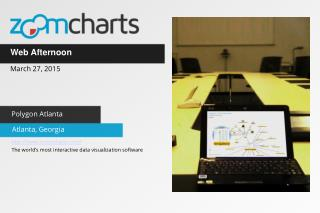 ZoomCharts for Web Afternoon in Atlanta Georgia