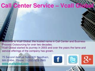 Call Center Service - Call Center Outsourcing