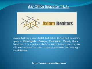 Buy  Space In Tricity