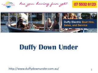 Duffy Down Under