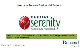 Mantri Serenity in Bangalore