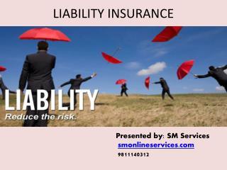 Buy liability insurance