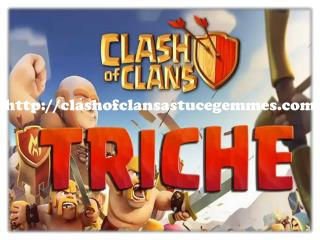 clash of clans astuces