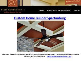 Home BuildersSpartanburg