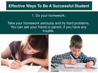 Effective Ways To Be A Successful Student