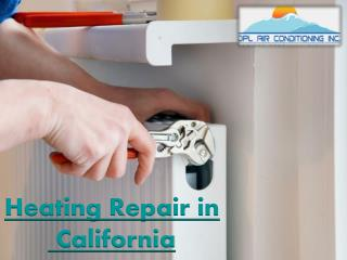Heating Repair in California