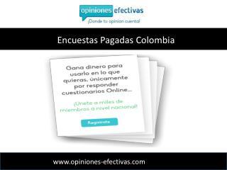 Encuestas remuneradas Online-Opiniones Efectivas