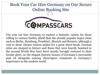Car Hire Germany