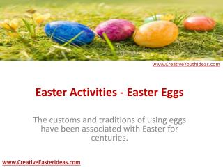 Easter Activities - Easter Eggs