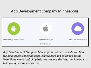 App Development Company Minneapolis