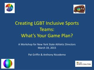 Creating LGBT Inclusive Sports Teams (2015)