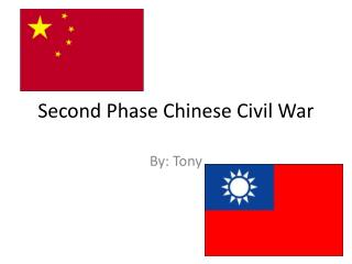 Second Phase Chinese Civil War