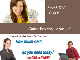 Quick Loans | http://www.fastloanvirtuoz.co.uk