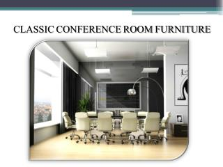 Conference room furniture to enhance the interiors of your o