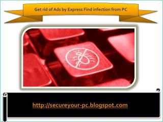 How To Remove Ads by Express Find