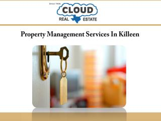 Property Management Services In Killeen