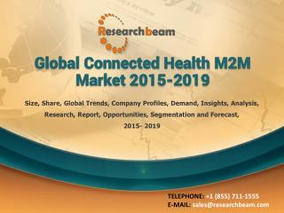 Global Connected Health M2M Market 2015-2019