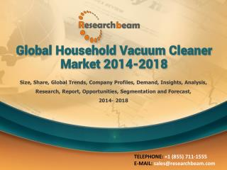 Global Household Vacuum Cleaner Market 2014-2018